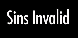 Sins Invalid Logo